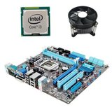 Kit Placa de Baza Refurbished ASUS P7H55-M LE, Dual Core i3-540, Cooler